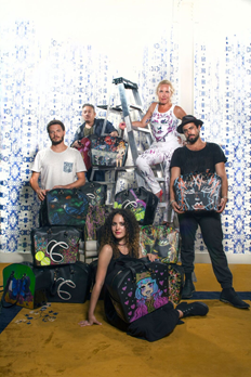 One-of-Kind Hand-Painted Totes Kick-Off 2016 Charitable Giving