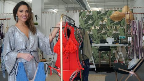 Venezuelan Entrepreneur + Bathing Suit Designer Opens Wynwood Miami Store