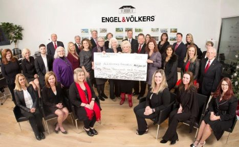 Engel Völkers Dallas Gifts Alzheimer's Association $83,000 From Sale of Dallas Showhouse